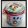 10 Latas Personalizadas Souvenirs 8,5x8 Angry Mickey Selva