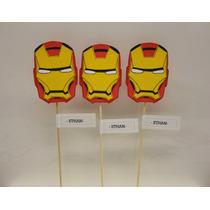 Iron Man / Avengers Super Heroes Souvenirs En Goma Eva