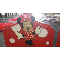 Servilleteros De Minnie, Minnie Bebé,mickey, Mickey Bebé