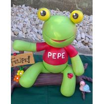 Adorno De Torta Sapo Pepe