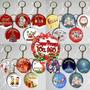 Llavero De Navidad Pins X10 Regalo Empresarial Navideño