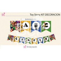 Kit Imprimible Toy Story Candy Bar Cumpleaños
