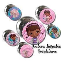 Pines Doctora Juguetes Prendedoresx10 Souvenirs 55mm Regalo