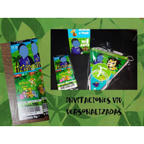 Invitaciones Entrada Vip Minnie, Mickey, Dra. Juguetes