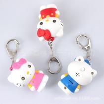 Llaveros Hello Kitty Con Luz Y Sonido