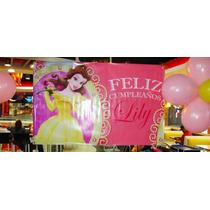 Banner De Lona Personalizados - Cumpleaños Candy Bar 1x1 M