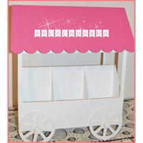 Carrito Candy Bar Fibrofácil Golosinas Cumpleaños Kiosco