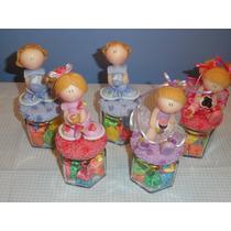 Souvenirs Infantil Caramelera De Vidrio
