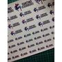 Stickers Resistentes Al Agua, Ideal Escolares.