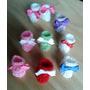 Souvenirs Mini Escarpines Crochet Nacimiento