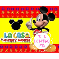 Mega Kit Imprimible Mickey Mouse + Candy Ytli2016