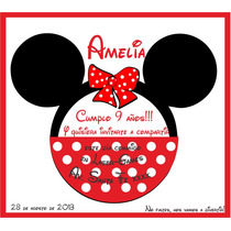 Invitaciones Infantiles Minnie Mickey Frozen Únicas!!