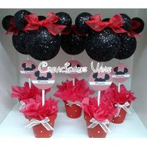 Centro De Mesa Mickey-minnie_personalizados!!!