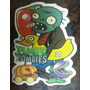 Stikers Grandes 85 X 50 Cm Plantas Vs Zombies - Angry Birds