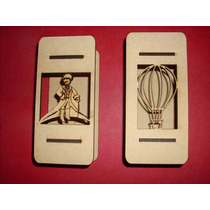 Porta Tubos Golosineros Soporte Souvenir Candy Bar X6 Unidad