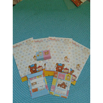 Souvenir Cumpleaños Nena Papel Carta Mini Personalizado