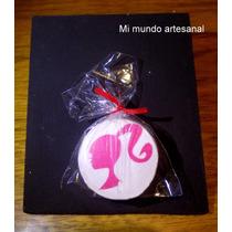 Tizas Con Pizarra - 24 Un. - Barbie - Souvenirs