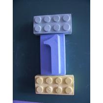 Souvenir Cumple Didáctico Rasti Lego Tiza P Pizarron 1 Año +