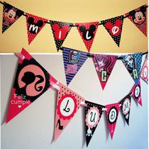 Banderines Personalizados Impresos Guirnalda Decoracion