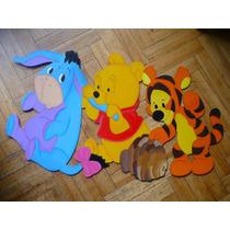 Wennie Pooh Tiger Bebe Figura Fibrofacil