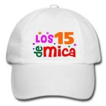 50 Gorras Estampadas Souvenir Infantiles Adultos Egresados