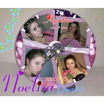 Reloj Cd Personalizado Gratis Pilas Y Atriles!!!