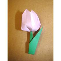Souvenir Flores Origami, Bautismo,cumpleaños,comunión