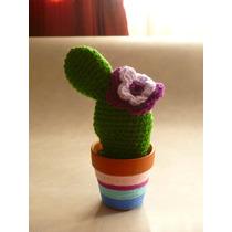 Cactus Tejidos Crochet Hechos A Mano.