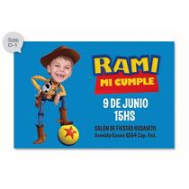 Invitaciones Personalizadas De Toy Story