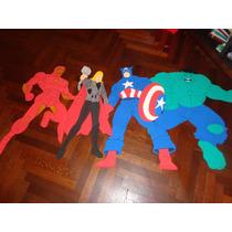 Avengers En Goma Eva Superman