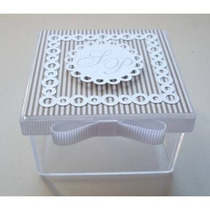 Cajitas Souvenirs X10 Und, De 5x5 Cm Para Personalizar