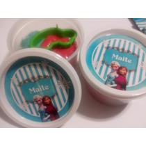 Masa Infantil Para Modelar-souvenir 12 Potes-personalizados
