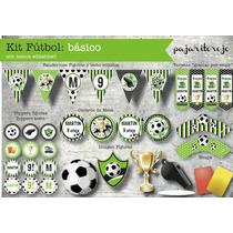 Kit Cumpleaños Futbol