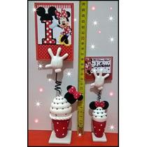 Souvenirs Mickey Minnie Primer Añito C/ Tarjeta Incluida!