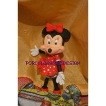 Minnie En Porcelana Fria