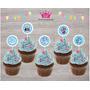 Frozen Topper Adorno P/ Cupcake Cumpleaños Frozen X 30