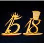Souvenir Central Antifaz Cumple 15 Años 18 40 50 Fibro