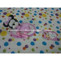 Souvenirs Minnie Bebé De Porcelana