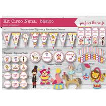 Kit Cumpleaños Circo Nena