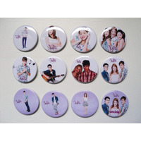 Pins Pines Personalizados Cumpleaños, Souvenir, Violetta X10