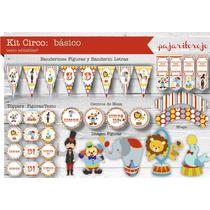 Kit Cumpleaños Circo Nene