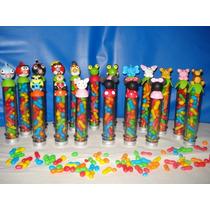 Souvenirs Tubos Golosineros.minions-payasito-mickey-minniey+