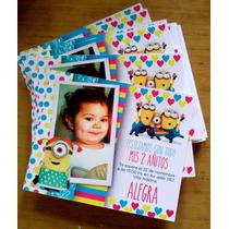 Invitaciones Infantiles Personalizadas 10x12 Cm