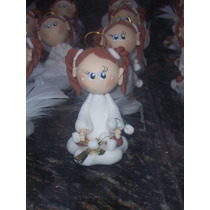 Angelitas Para Comunión En Porcelana Fría...!!!!!!