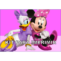 Kit Imprimible Mini Mouse