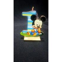 Souvenirs Mickey Y Minnie Bebe Fibrofacil X 1