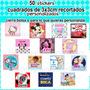 50 Stickers Cierra Bolsa Personalizados 3cm Y Otras Opciones