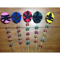 Souvenirs Power Ranger Con Gomitas