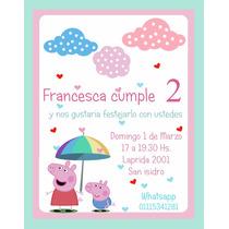 Invitaciones De Cumpleaños Infantiles, Bautismo, Baby Shower
