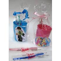 Souvenirs :cepillo Dientes + Vaso+figurita Infantil